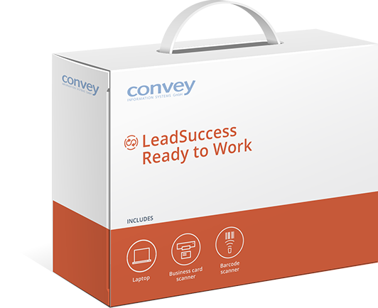 Lead management package LeadSuccess by convey information systems